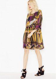 Ba&sh Fola Dress - Ocre Print