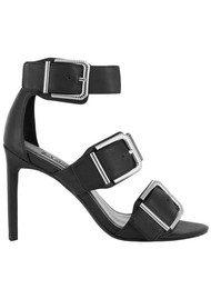 SENSO Tracey Buckle Heel - Black