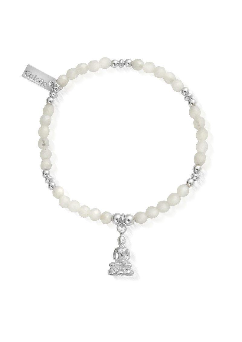 ChloBo Sidartha Bracelet - Silver & White Moonstone main image