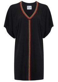 PITUSA Mini Abaya Dress - Black