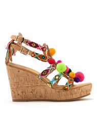 MABU Fira Pom Pom Wedge - Multi