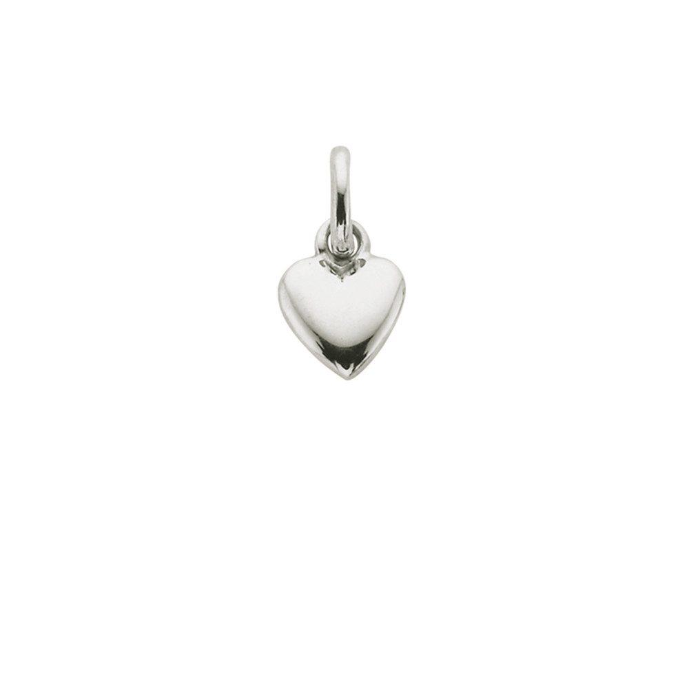 Bespoke Heart Charm - Silver