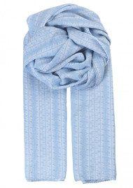 Becksondergaard Constantine Cotton Scarf - Dusk Blue