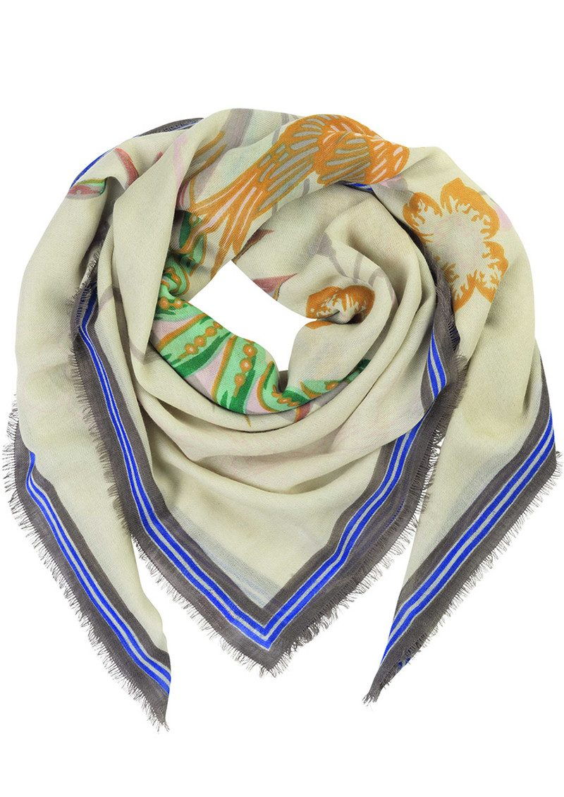 Dubois Wool Mix Scarf - Multi main image
