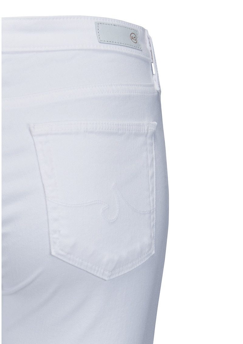 AG JEANS The Middi Ankle Jeans - White main image