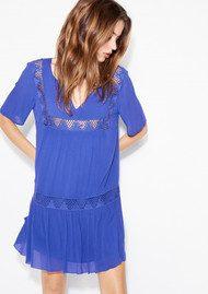 Ba&sh Waxa Dress - Klein Blue