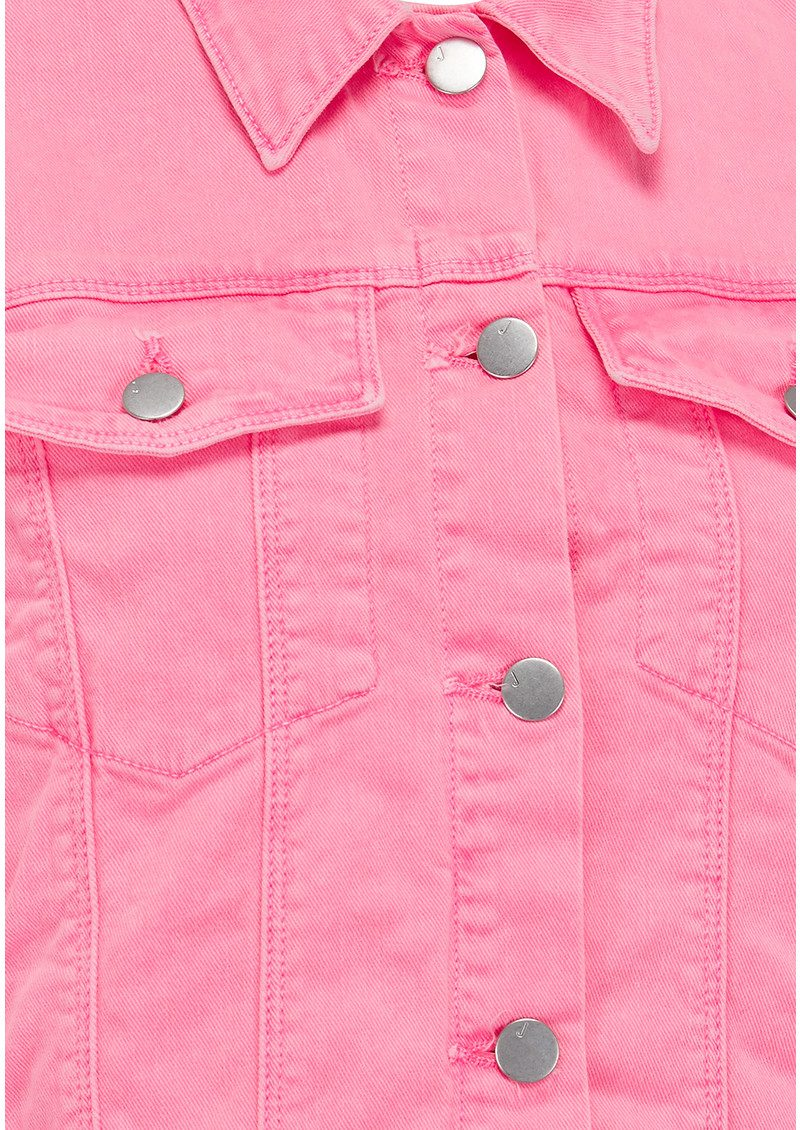 J Brand Sun Harlow Jacket - Guava main image