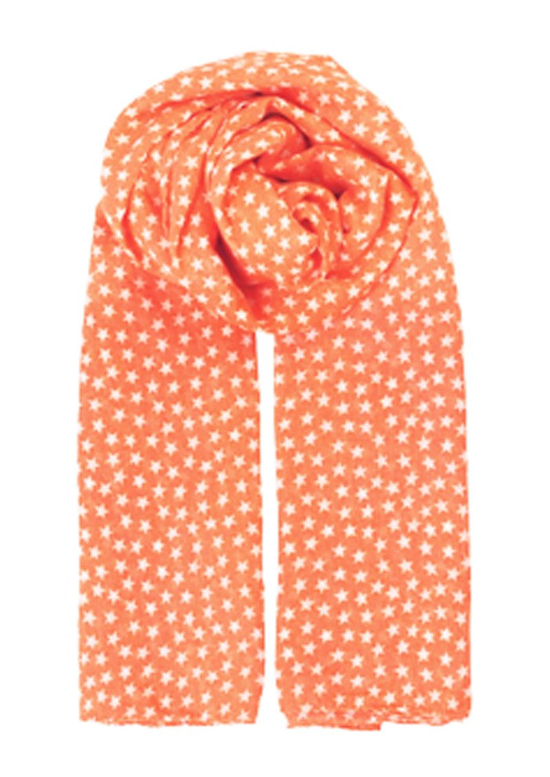 Fine Summer Star Scarf - Vibrant Pink main image