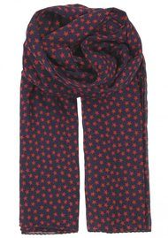 Becksondergaard Fine Summer Star Scarf - Red