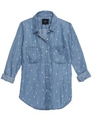 Rails Carter Denim Shirt - Cactus
