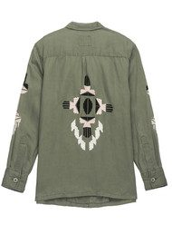 Rails Elliott Jacket - Sage Aztec