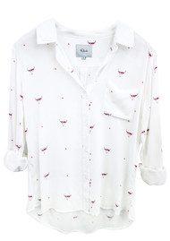 Rails Rosci Shirt - Indigo Print