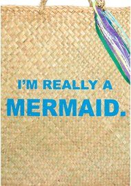 COUNTING STARS Beach Bound Bag - Mermaid