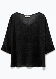 American Vintage Yzabridge Top - Black