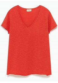 American Vintage Jacksonville Short Sleeve T-Shirt - Scarlet