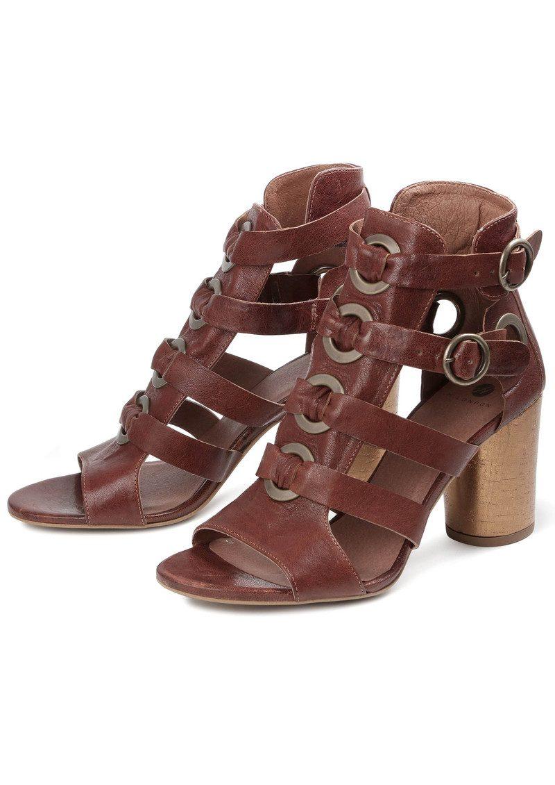 Hudson London Grenada Leather Sandal - Tan main image