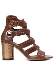 Hudson London Grenada Leather Sandal - Tan