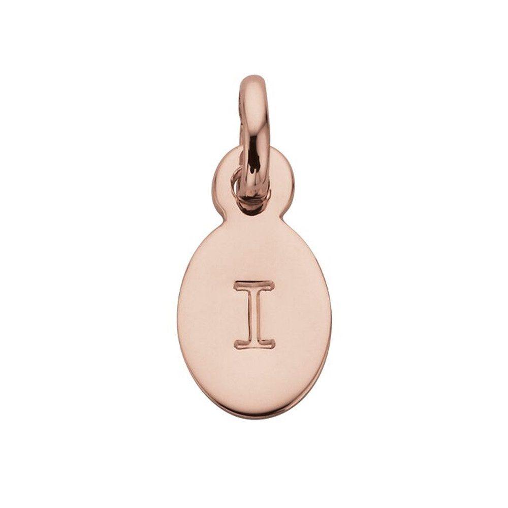 Bespoke Alphabet 'I' Charm - Rose Gold
