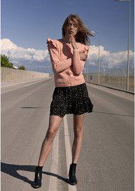CUSTOMMADE Saseline Skirt - Anthracite Black