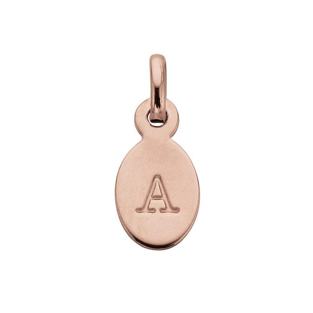 Bespoke Alphabet 'A' Charm - Rose Gold