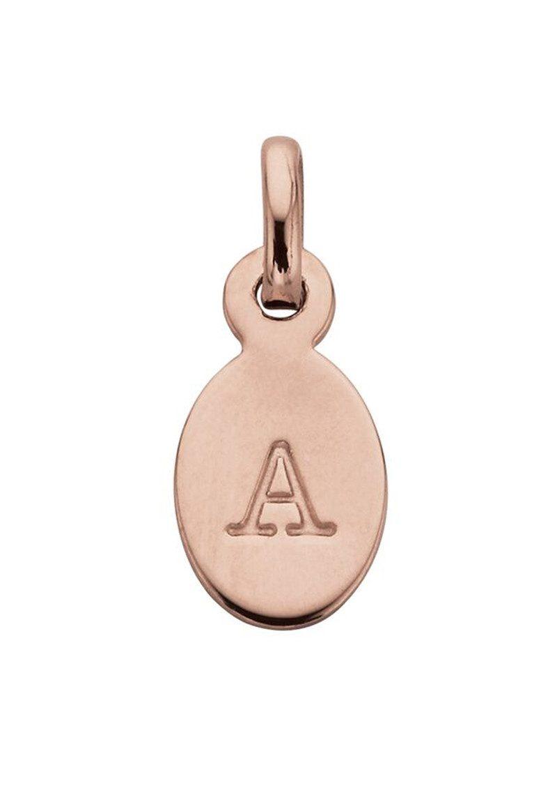 KIRSTIN ASH Bespoke Alphabet 'A' Charm - Rose Gold main image
