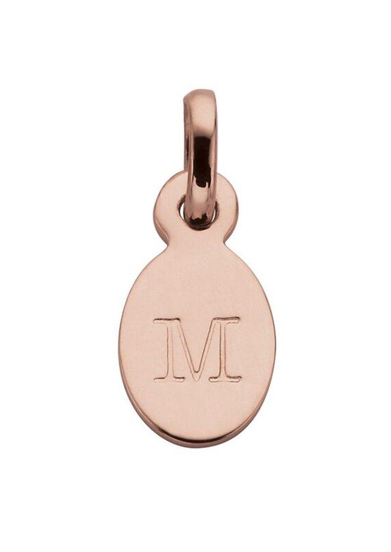 KIRSTIN ASH Bespoke Alphabet 'M' Charm - Rose Gold main image