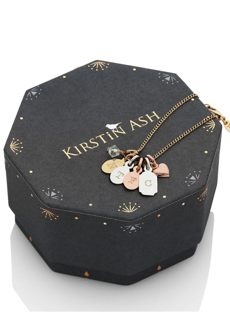 KIRSTIN ASH Bespoke Alphabet 'Q' Charm - Rose Gold main image