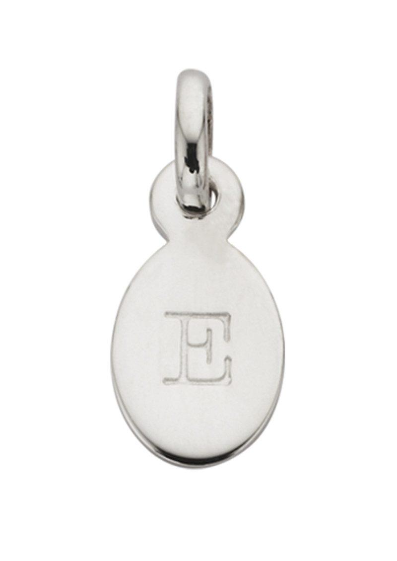 KIRSTIN ASH Bespoke Alphabet 'E' Charm - Silver main image