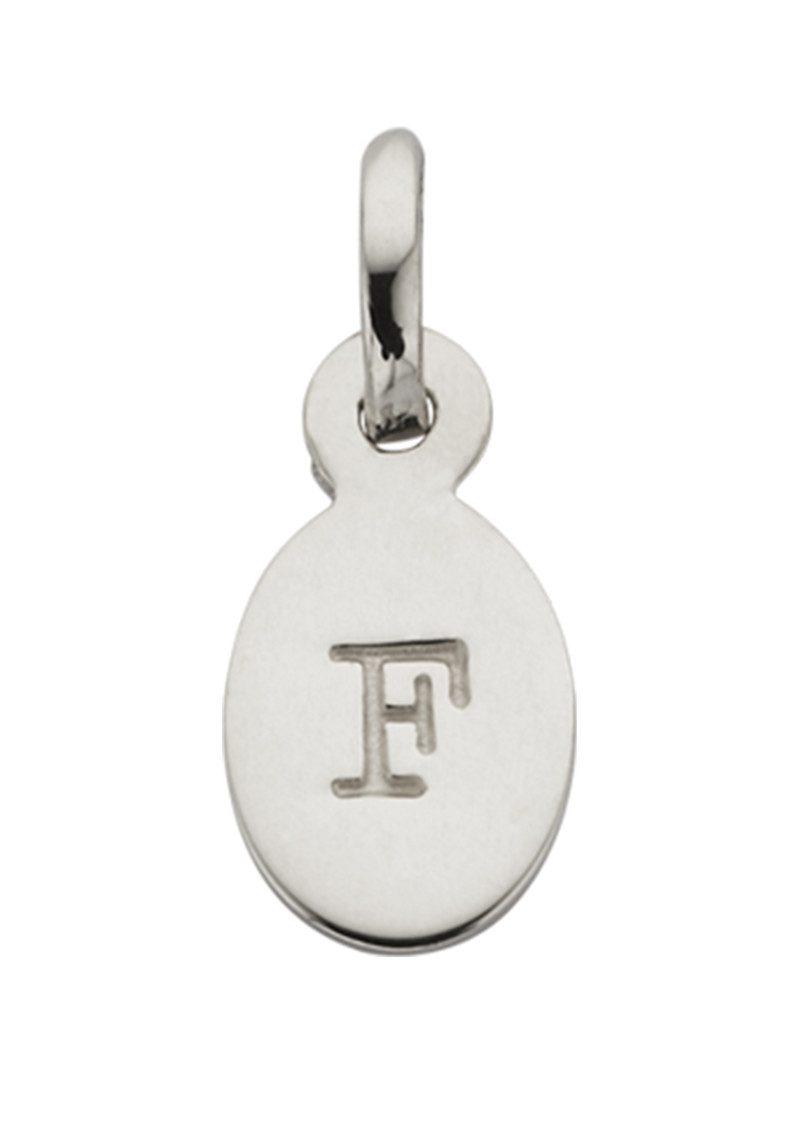 KIRSTIN ASH Bespoke Alphabet 'F' Charm - Silver main image