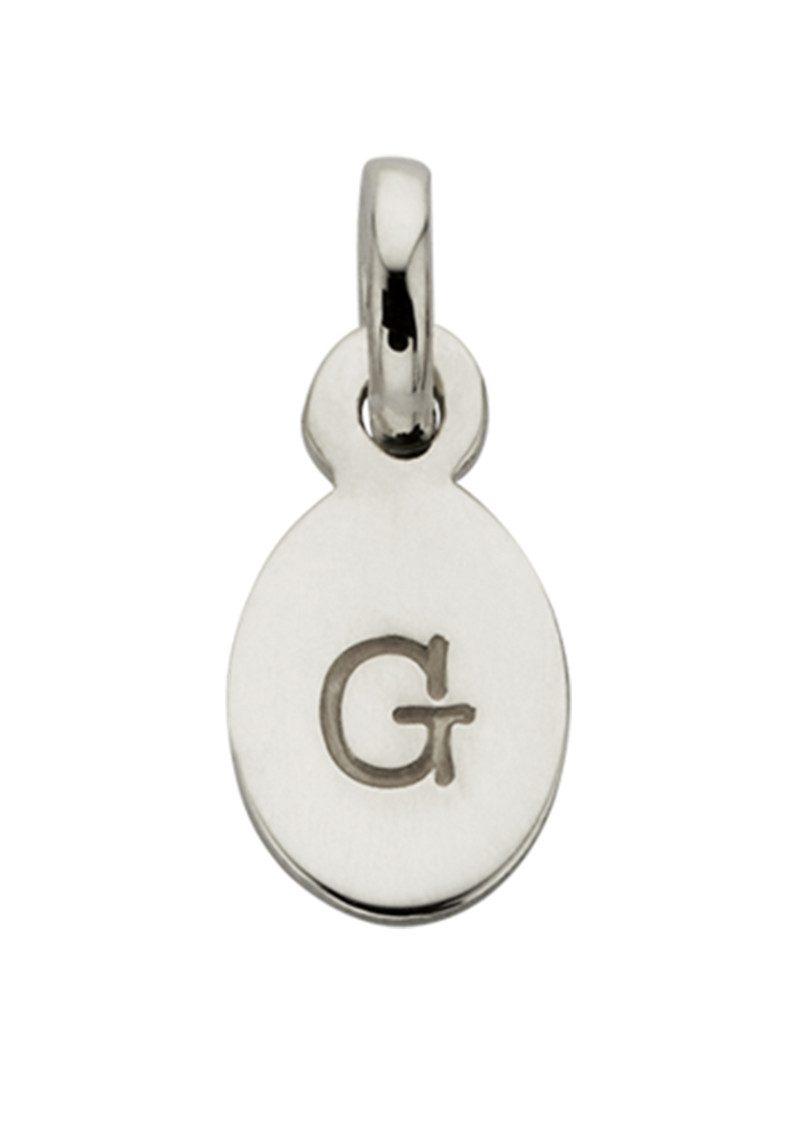 KIRSTIN ASH Bespoke Alphabet 'G' Charm - Silver main image