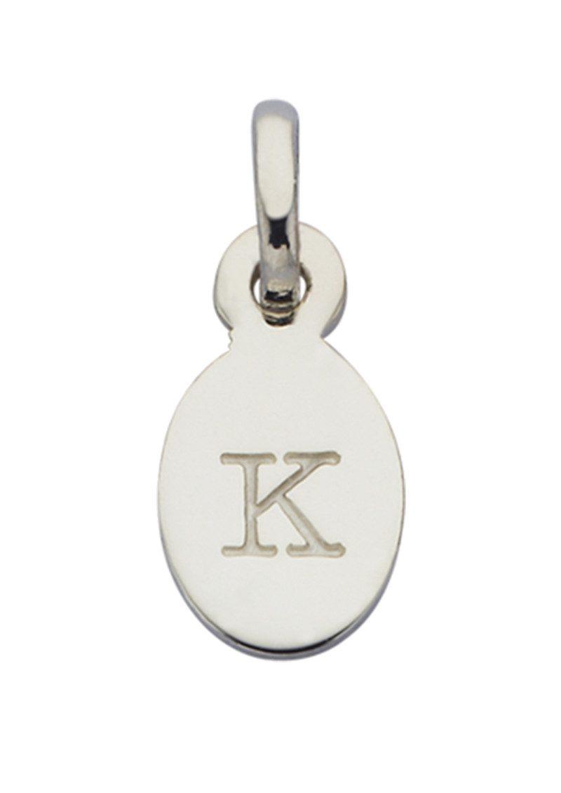 KIRSTIN ASH Bespoke Alphabet 'K' Charm - Silver main image