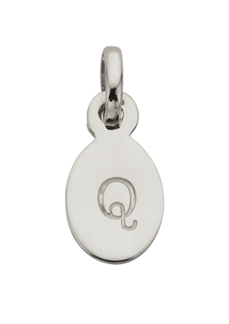 KIRSTIN ASH Bespoke Alphabet 'Q' Charm - Silver main image