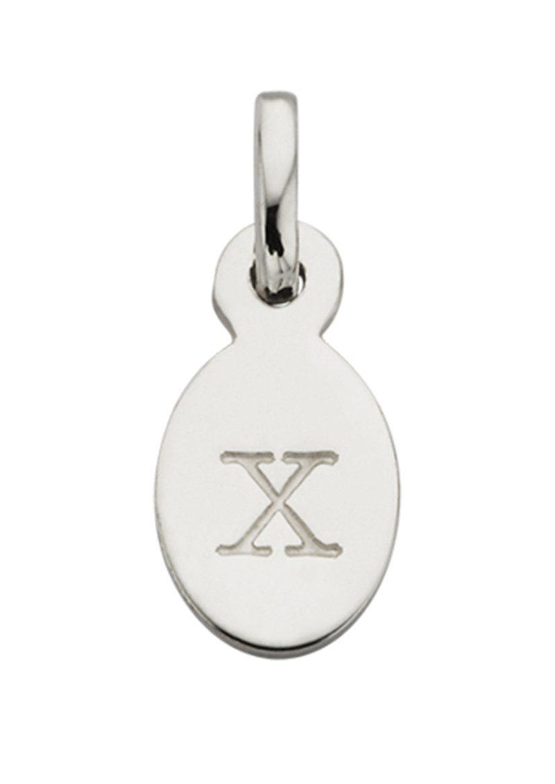KIRSTIN ASH Bespoke Alphabet 'X' Charm - Silver main image
