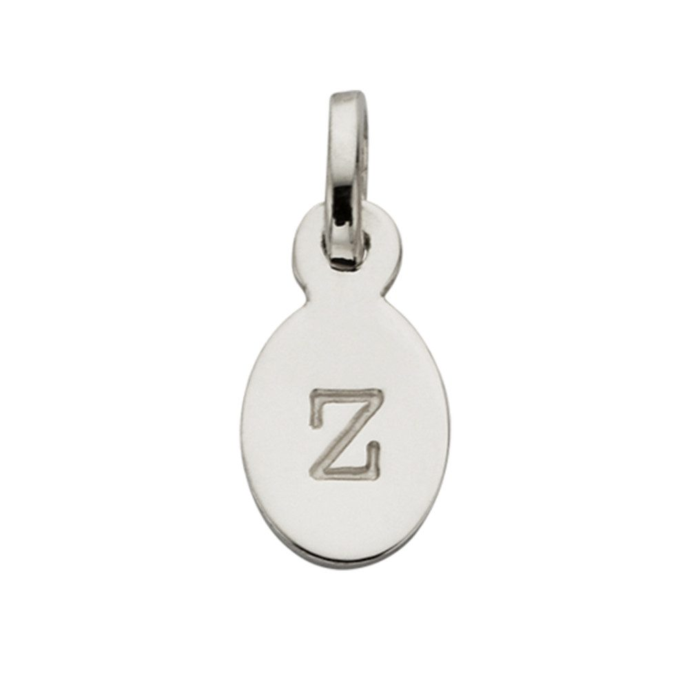 Bespoke Alphabet 'Z' Charm - Silver