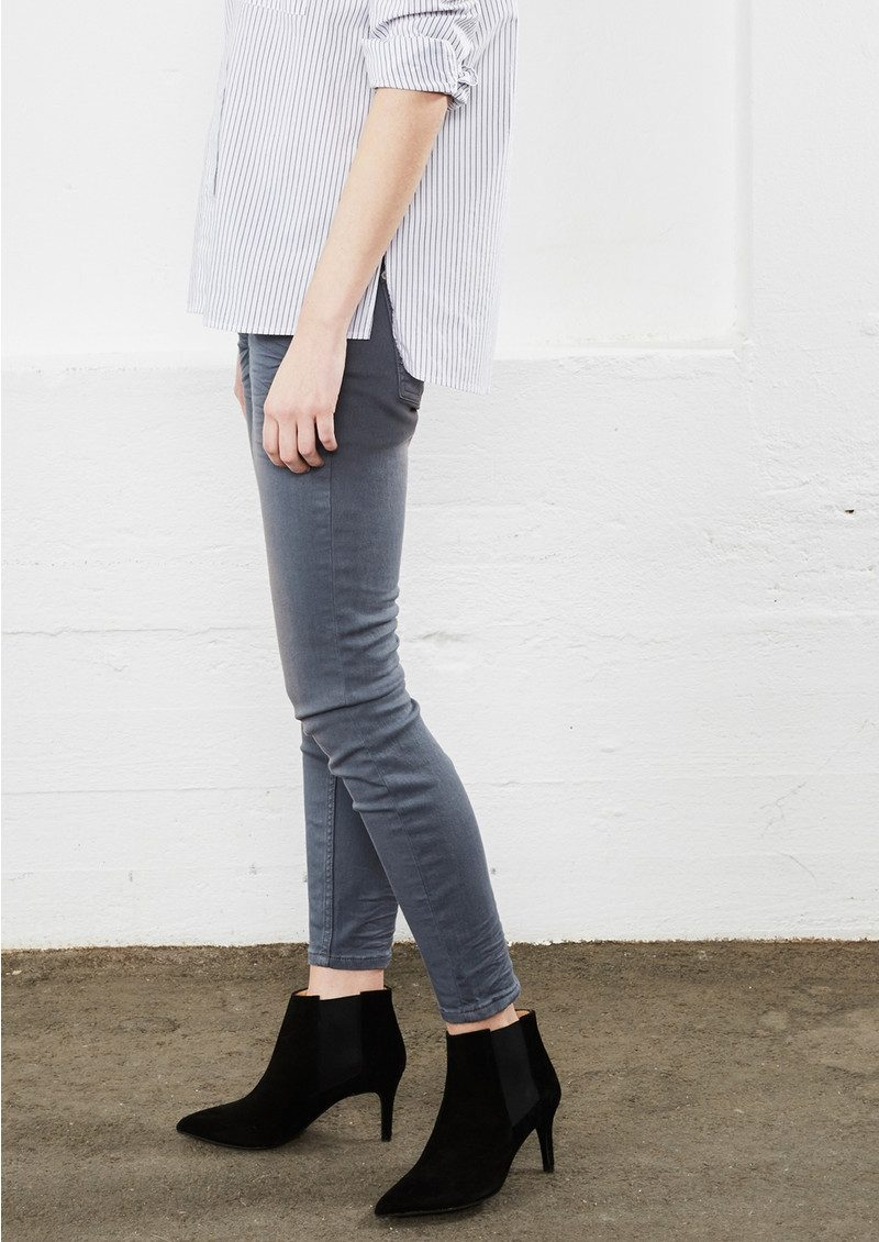 Twist and Tango Sid Ankle Jeans - Mid Grey main image