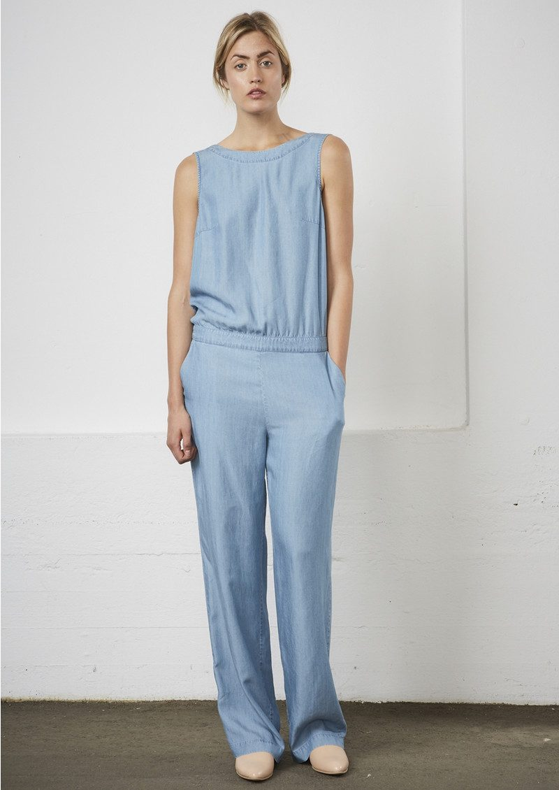 Alessa Jumpsuit - Light Blue Denim main image