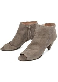 Hudson London Goa Suede Boot - Taupe