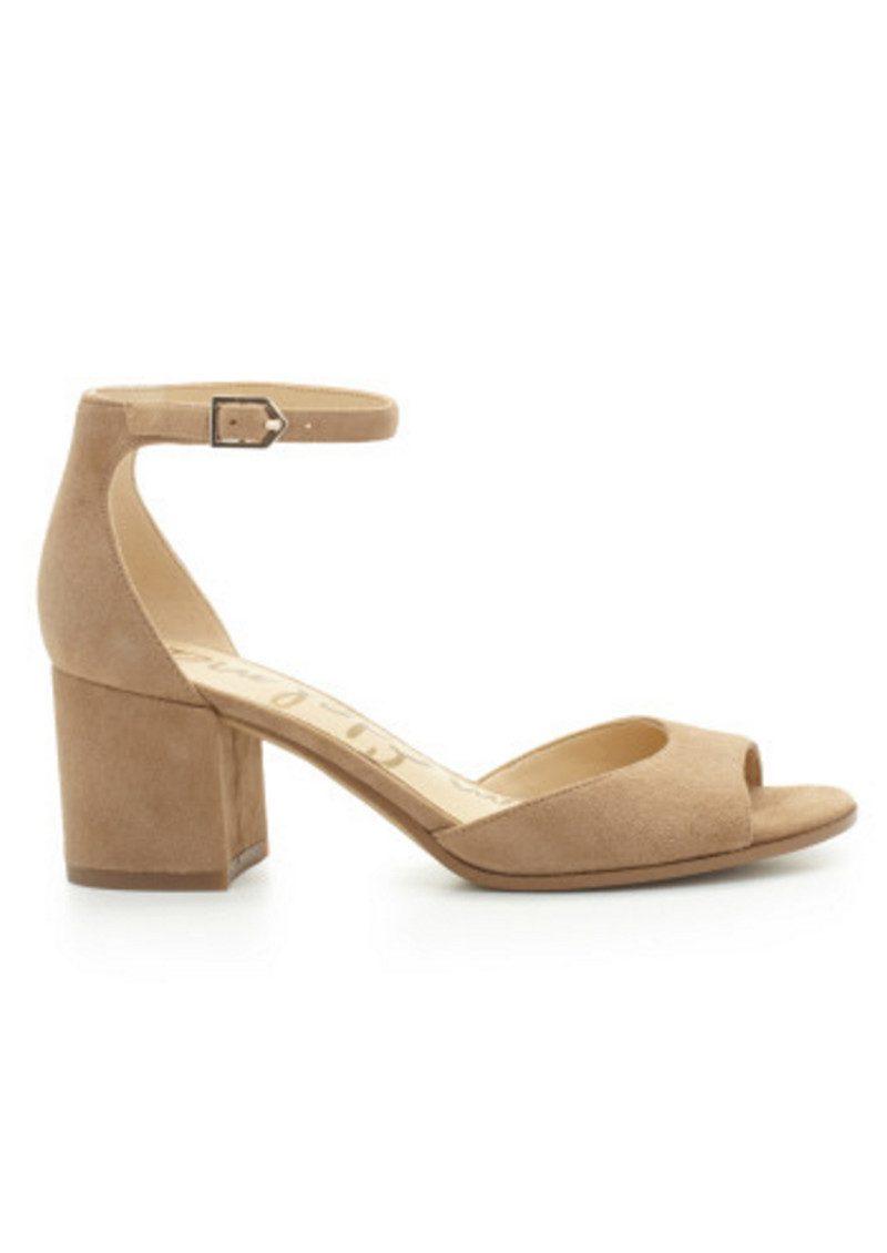Sam Edelman Susie Ankle Strap Sandal Oatmeal