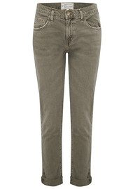Current/Elliott The Fling Jeans - Stone Grey