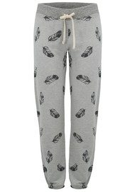 SUNDRY Sweatpants - Feather Print