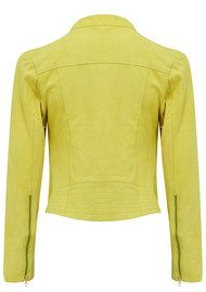 FAB BY DANIE Paris Suede Jacket - Lime