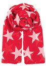 Becksondergaard Fine Twilight Scarf - Fiery Red