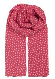 Becksondergaard Fine Summer Star Scarf - Rouge Red