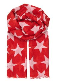 Becksondergaard Supersize Nova Scarf - Rouge Red
