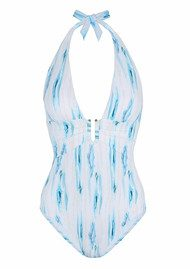 HEIDI KLEIN Ravello U Bar One Piece - Print