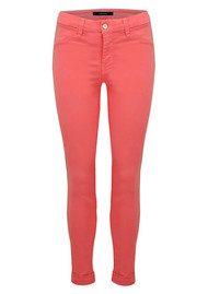 J Brand Anja Clean Cuffed Crop Jeans - Roseate