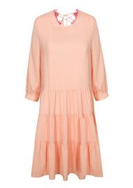 Essentiel Nanastasia Lace Back Dress - Blush