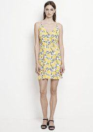 SAMSOE & SAMSOE Ginni AOP Short Dress - Rose Citrus