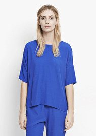 SAMSOE & SAMSOE Marnis Short Sleeve Top - Surf The Web