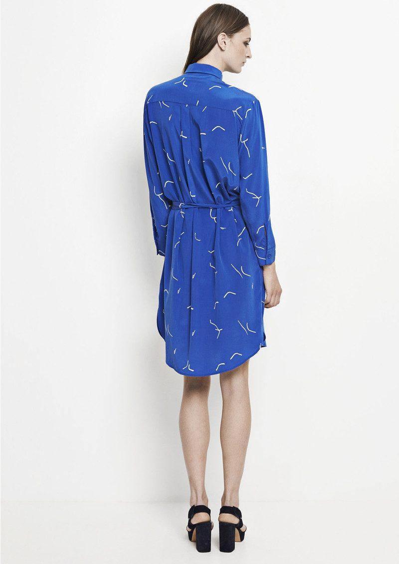 SAMSOE & SAMSOE Bristo Shirt Dress - Martisse Blue main image